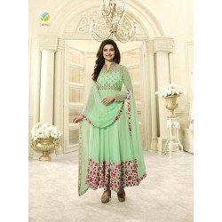 4743 MINT KASEESH PRACHI-28 SEMI STITCHED ANARKALI SUIT